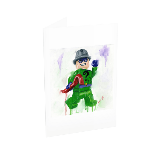 The Riddler Card