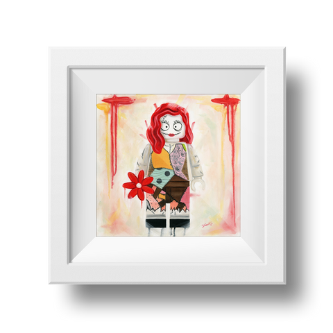 Sally Nightmare before Christmas print