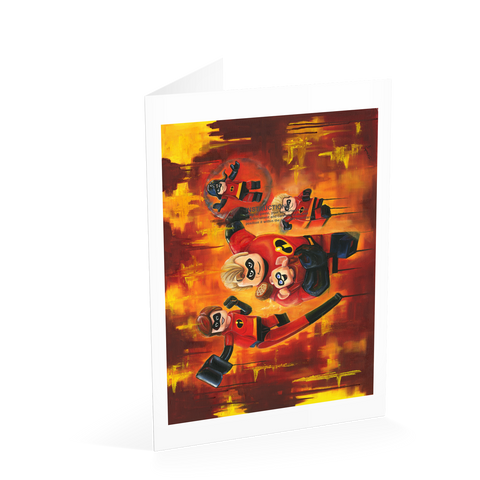 The Incredibles Card
