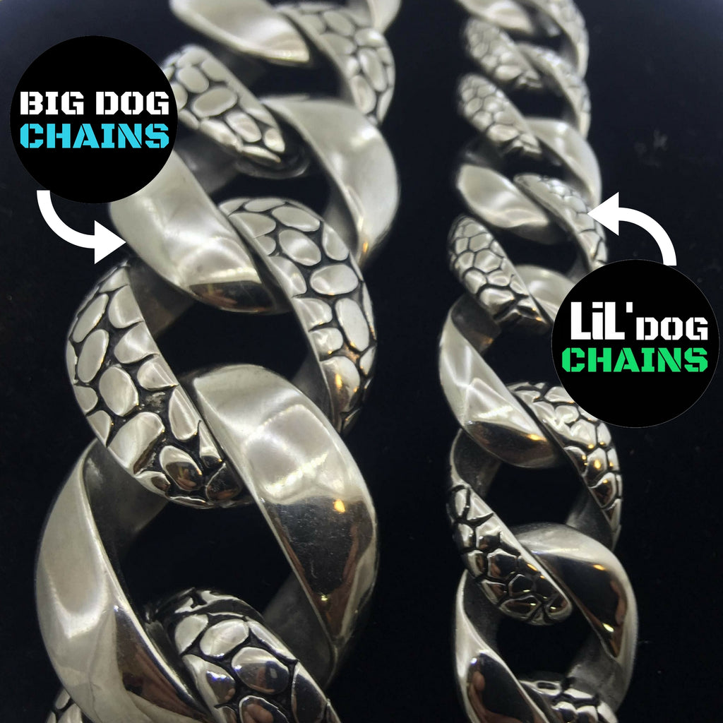 Metal dog collars stainless steel quality - BIG DOG CHAINS