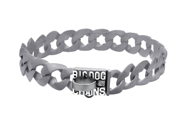 MATTE FINISH DOG COLLAR | THE COMMANDER | BIG DOG CHAINS