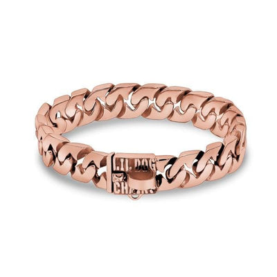 EMPRESS_Unique_Dog_Collar_Rose_Gold_with_Custom_Stainless_Steel_Link_Design_Strongest_Collar_for_Small_Dogs_and_Unmatched_Style_BIG_DOG_CHAINS
