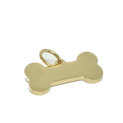 BONE | GOLD DOG ID TAG