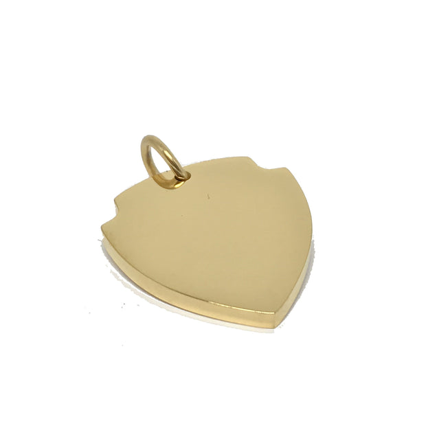 GOLD SHIELD | GOLD DOG ID TAG