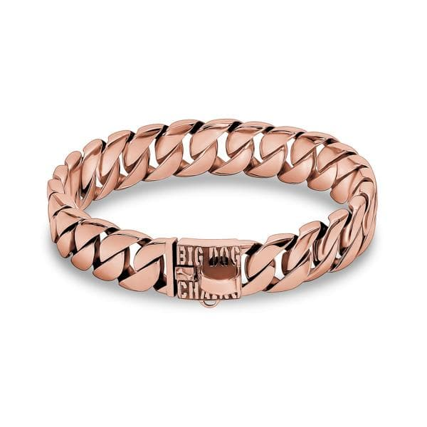 KILO_ROSE_Cuban_Link_Rose_Gold_Dog_Collar_for_Strong_XL_Dogs_like_Bullies_pit_Bull_Bull_Mastiff_Rottweiler_German_Shepard_Cane_Corso_and_More_BIG_DOG_CHAINS