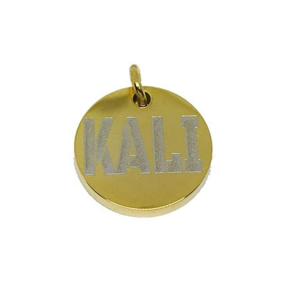 Luxury Gold Dog Collar ID Tag Personalized Stainless Steel Gold Custom Tags - BIG DOG CHAINS
