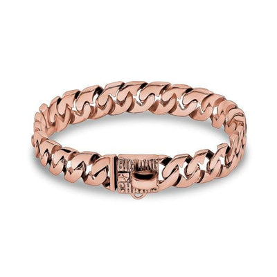 ROXY_Rose_Gold_Dog_Collar_Using_A_Unique_Link_Design_Strong_for_Large_to_Medium_Size_Dog_Breeds_Custom_Fitted_For_Strength_and_Comfort_BIG_DOG_CHAINS