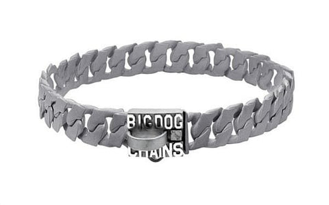 Spartan strong Luxury Matte Finish Metal Dog Collar jewelry - BIG DOG CHAINS