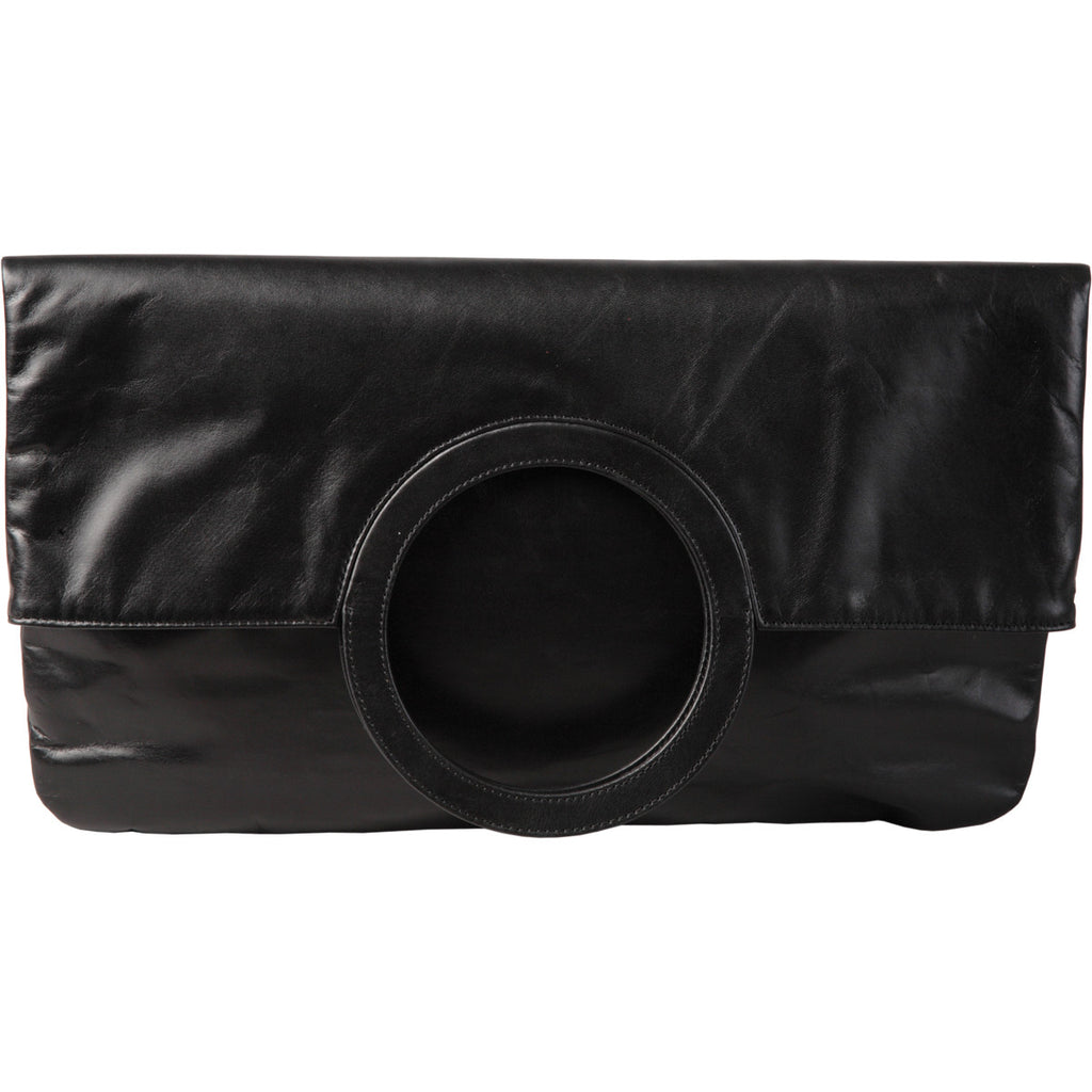 leather clutch bag, evening bag