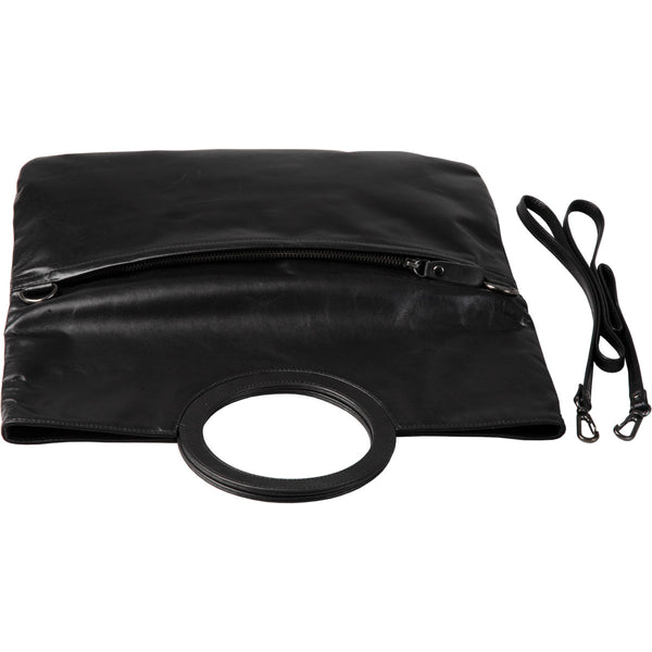 multi fanction leather clutch