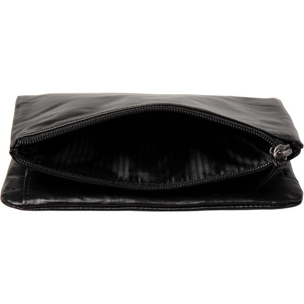 Large exterior zip pocke