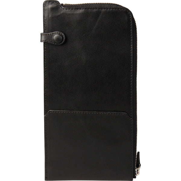 Securely zipped travel wallet
