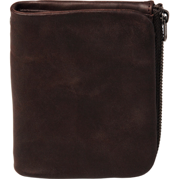 All leather lined hand polished leather wallet