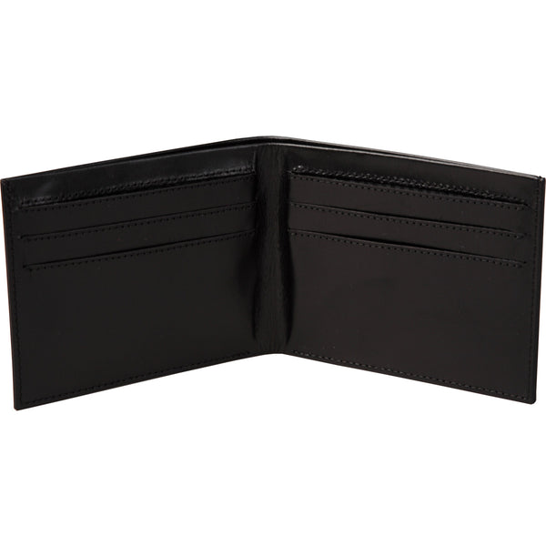super slim all leather wallet