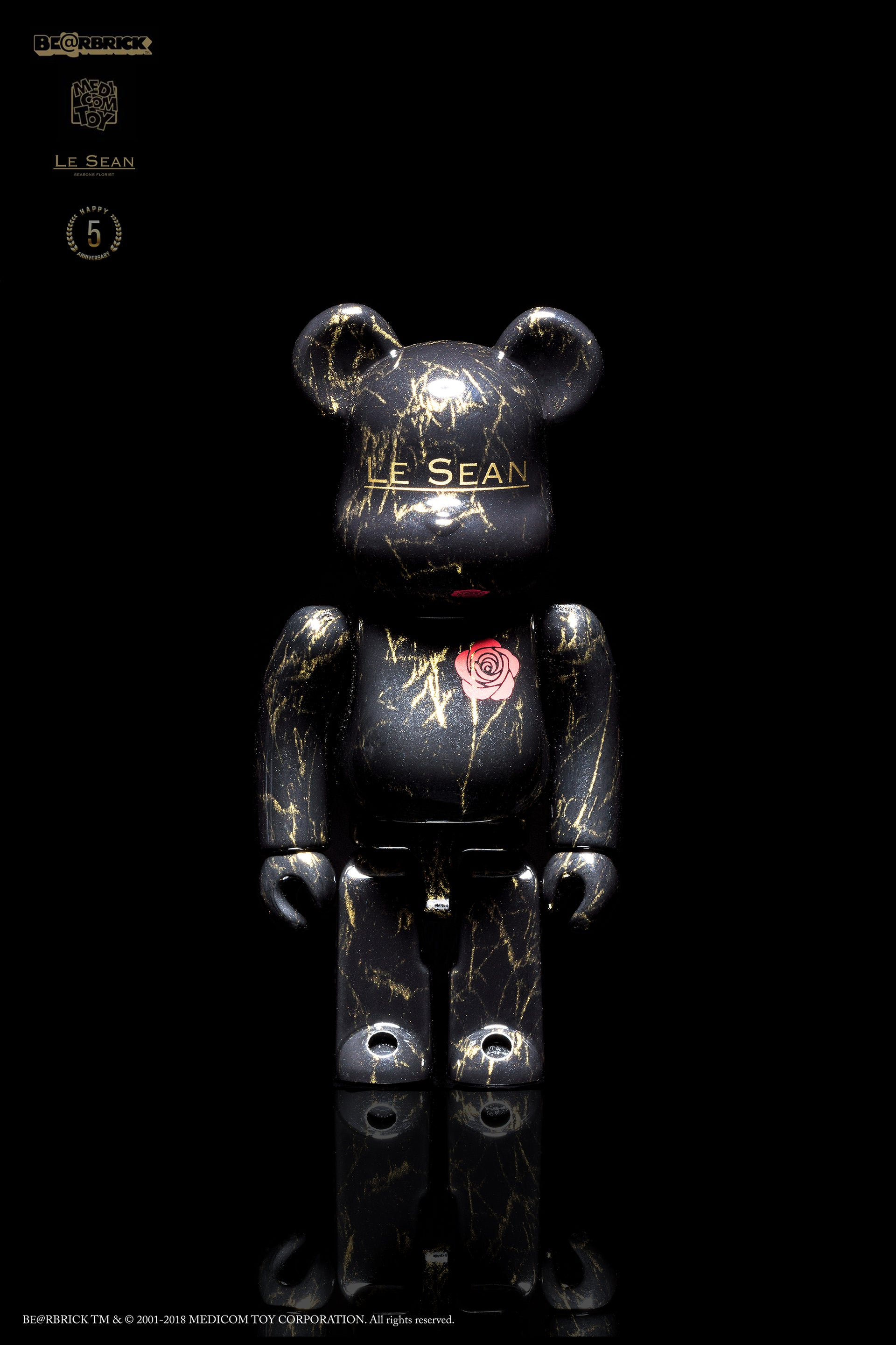 LESEAN X MEDICOM TOY BE@RBRICK