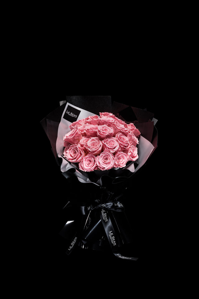 Le Sean Preserved Bouquet - Feminine Pink