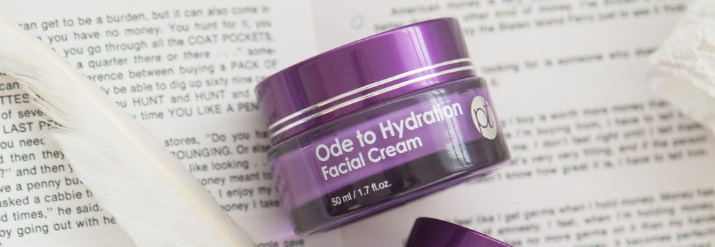 purpletale ode to hydration facial cream
