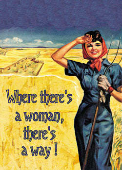 6-GC0124 - Where there's a woman