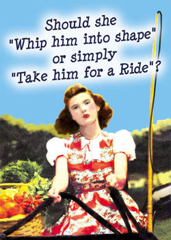 6-GC0168 - Whip him into shape