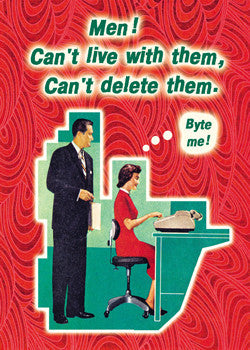 "6-GC0206 - ""Men! Can't delete"""
