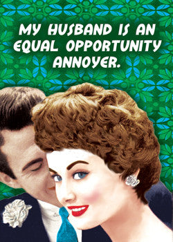 "6-GC0243 - ""Equal opp. annoyer."""