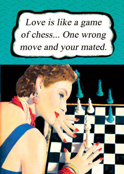 3-MA0761 - Love is like a game of chess