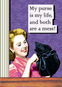 3-MA0767 - My purse is my life