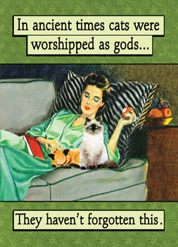 6-GC0816 - In ancient times cats were worshipped as gods