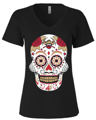 San Francisco Football Sugar Skull