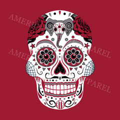 Alabama Sugar Skull Shirt