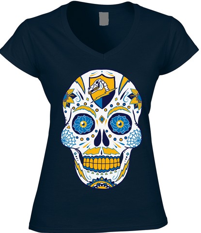 Chargers Sugar Skull