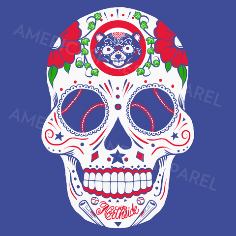 Chicago Northside Sugar Skull Shirt - Men's