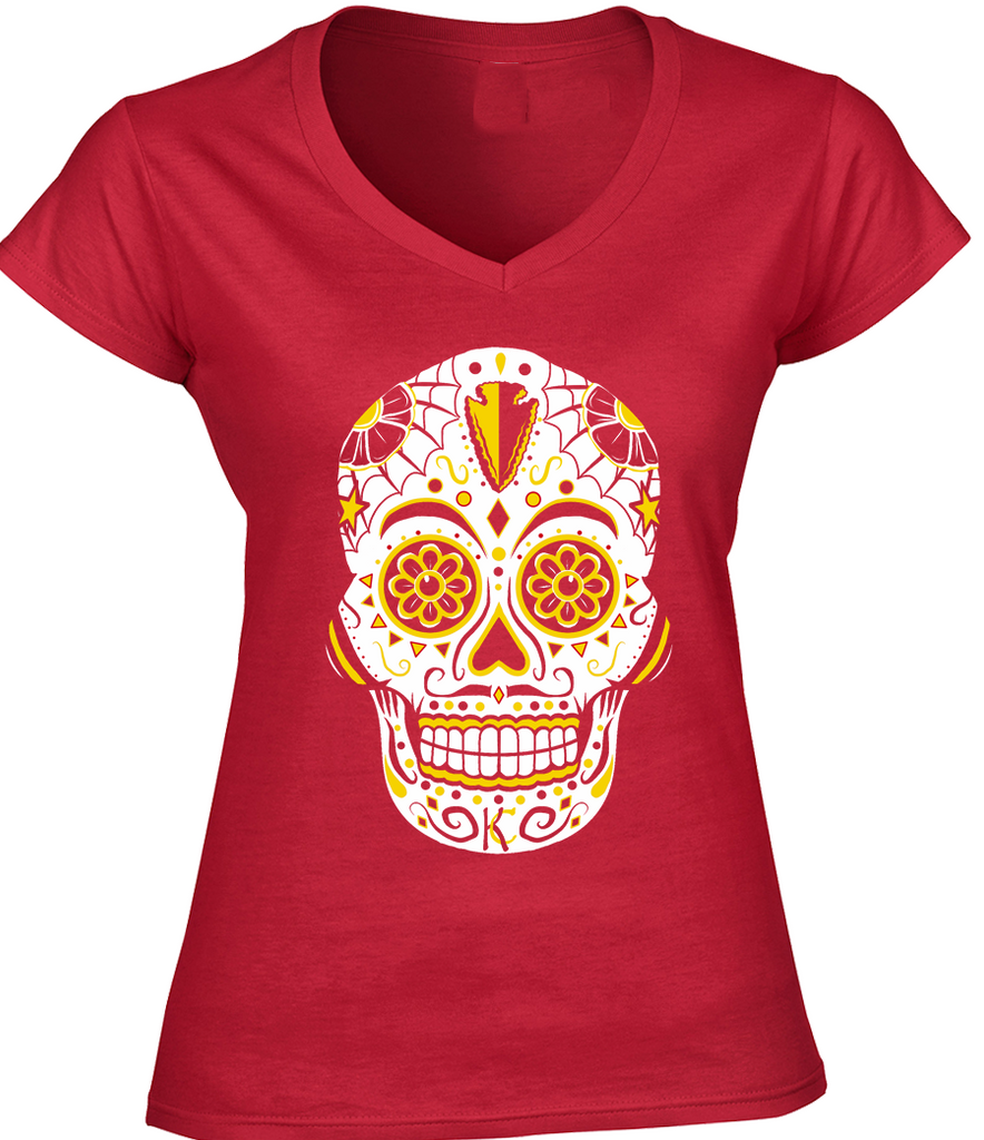 Kansas City Football Sugar Skull
