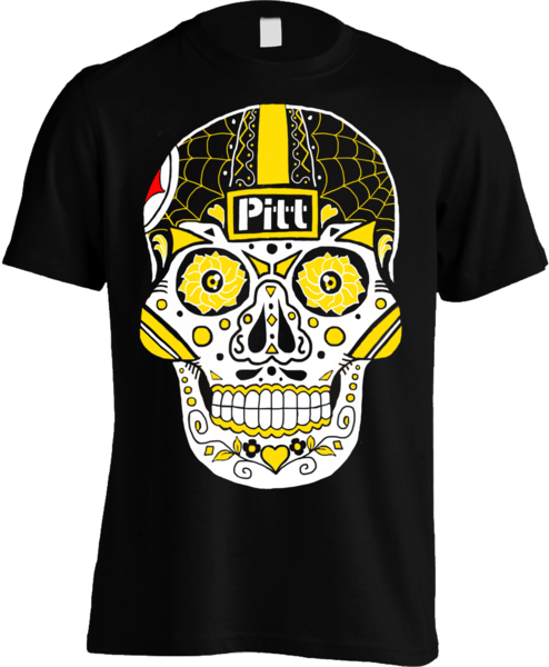 Steelers Sugar Skull
