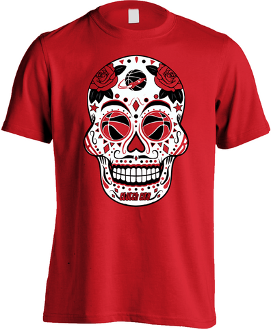Houston Basketball Sugar Skull