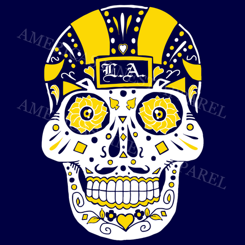 Los Angeles Sugar Skull FTB