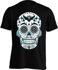Philadelphia Football Sugar Skull