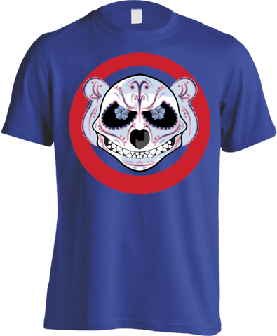 Chicago Northside Baseball Logo Skull