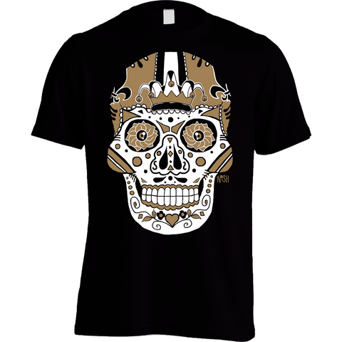 New Orleans Football Sugar Skull
