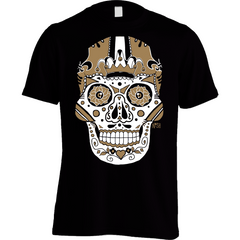 New Orleans Saints Football Sugar Skull