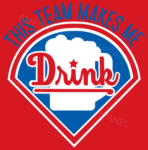 Philadelphia Baseball This Team Makes Me Drink