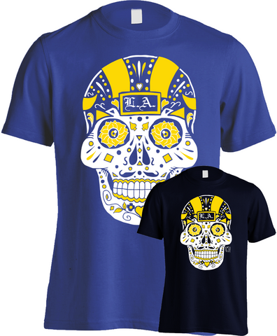 Los Angeles Football Sugar Skull - Mens