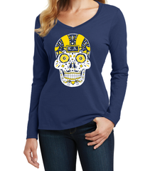 Los Angeles Football Sugar Skull