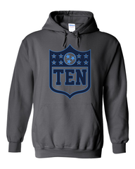 Tennessee Football Shield Hoodie