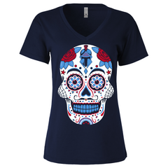 Tennessee Football Sugar Skull