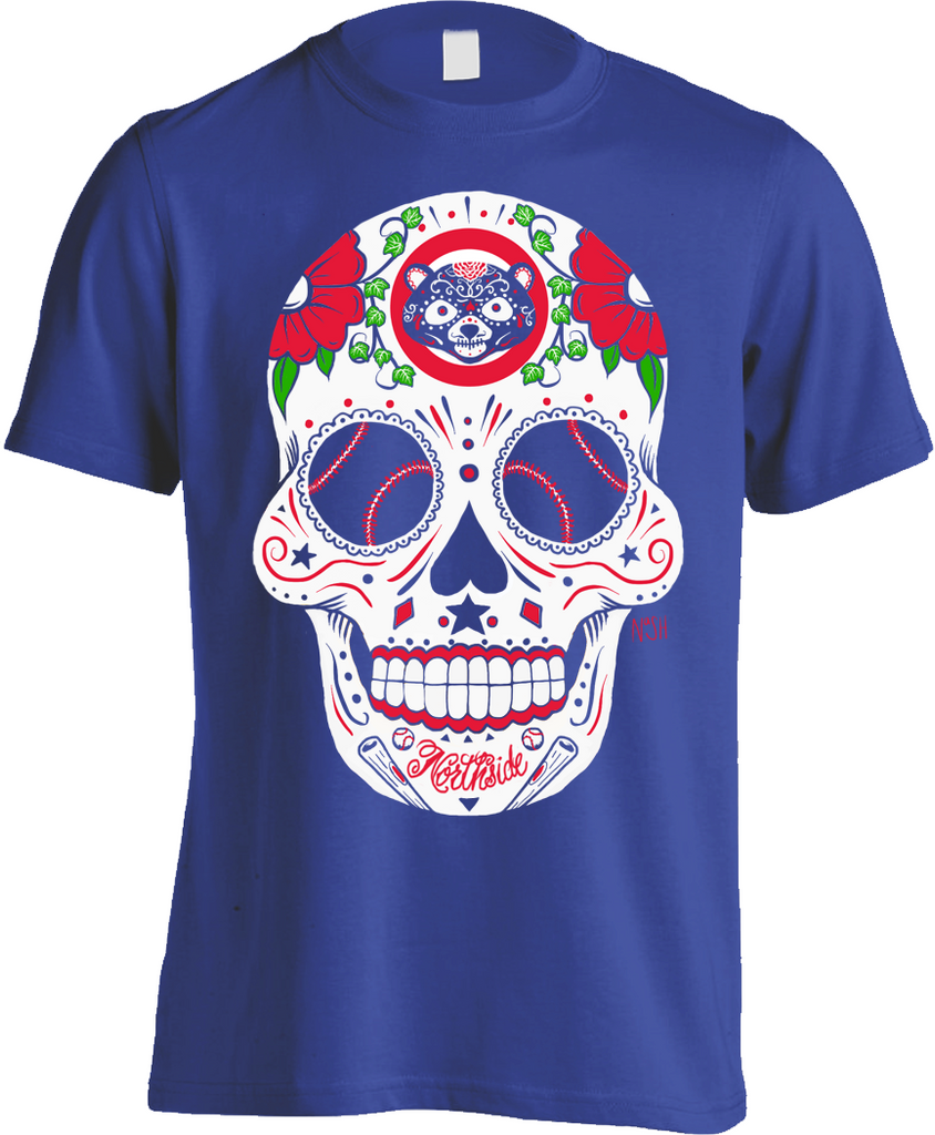 Chicago Northside Sugar Skull Shirt - Mens