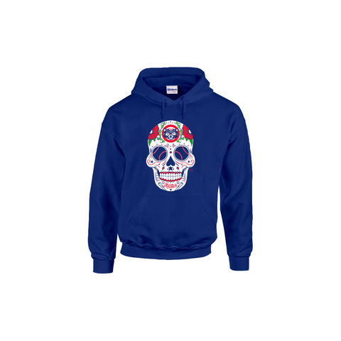 Chicago Cubs Baseball Sugar Skull hoodie