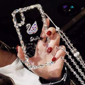 Diamond Swan iPhone Tok