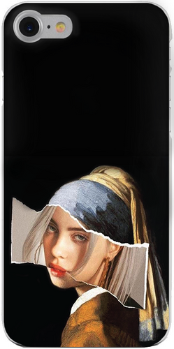 Billie Eilish ModernArt iPhone Tok