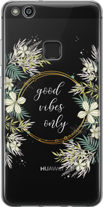 Good Vibes Only Átlátszó Huawei Tok